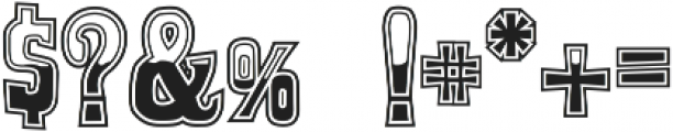Whiskey Town ttf (400) Font OTHER CHARS