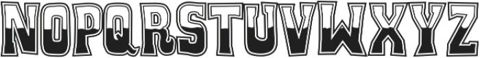 Whiskey Town ttf (400) Font UPPERCASE