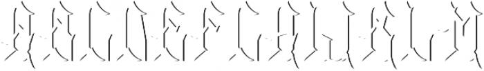 Whiskey02 ShadowFX otf (400) Font LOWERCASE