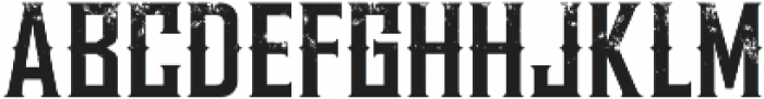 WhiskeyFontStrong03 otf (400) Font LOWERCASE