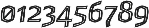Whisky Inline 1560 Italic otf (400) Font OTHER CHARS