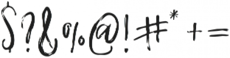 Whisper otf (400) Font OTHER CHARS