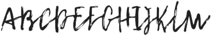 Whisper otf (400) Font LOWERCASE