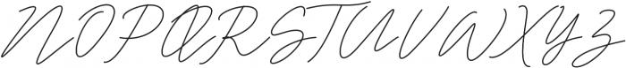 White Angelica Regular otf (400) Font UPPERCASE