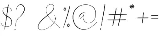 White Desert otf (400) Font OTHER CHARS