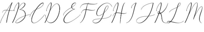 White Desert otf (400) Font UPPERCASE