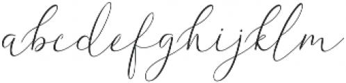 White Desert otf (400) Font LOWERCASE
