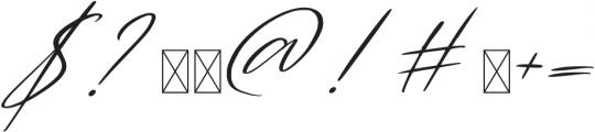 White Marble CR ST Regular ttf (400) Font OTHER CHARS