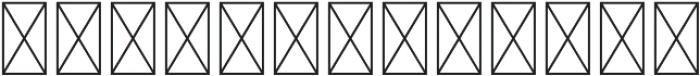 White Marble CR ST Regular ttf (400) Font UPPERCASE