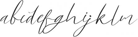White Marble LAT ALT Regular ttf (400) Font LOWERCASE