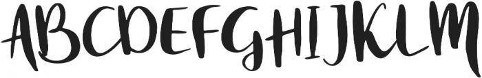White Nights otf (400) Font UPPERCASE