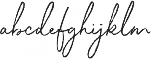 White Oleander Compact otf (400) Font LOWERCASE