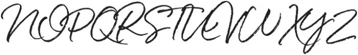 White Oleander Upright Alt2 ttf (400) Font UPPERCASE