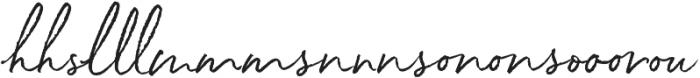 White Oleander Upright Extras ttf (400) Font LOWERCASE