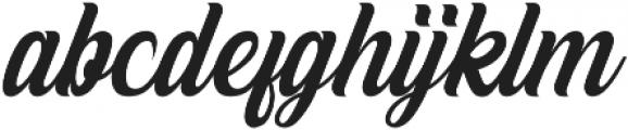White Smith otf (400) Font LOWERCASE
