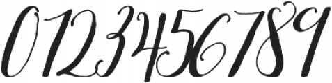 White Snowfall otf (400) Font OTHER CHARS