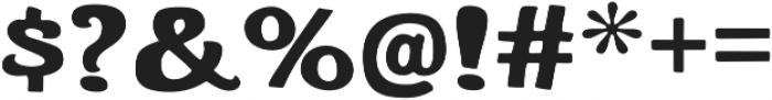 Whiterock Regular otf (400) Font OTHER CHARS