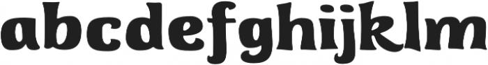 Whiterock Regular otf (400) Font LOWERCASE