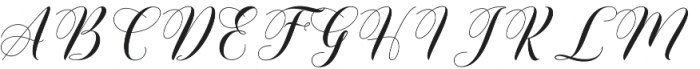 Wholler otf (400) Font UPPERCASE