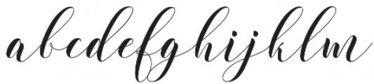 Wholler otf (400) Font LOWERCASE