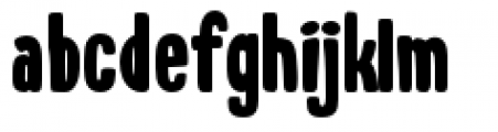 Whiskers Regular Font LOWERCASE