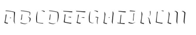 Whisky Italics 1890 Fill Italic Font UPPERCASE