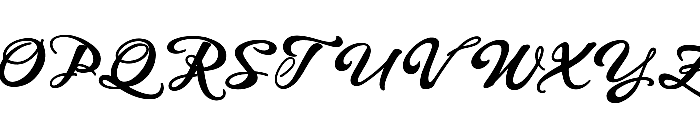 WHISPERS CALLIGRAPHY_DEMO_sinuous_BOLD Font UPPERCASE