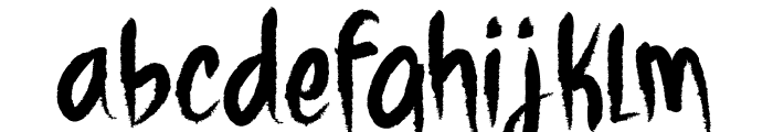 WHITE_SHARK_CRE Font LOWERCASE