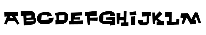 Whachouse Font UPPERCASE