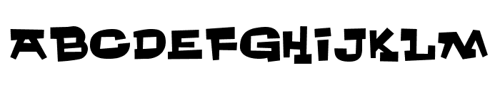 Whachouse Font LOWERCASE