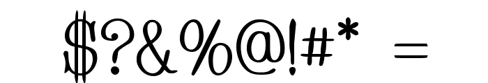 Whackadoo Font OTHER CHARS