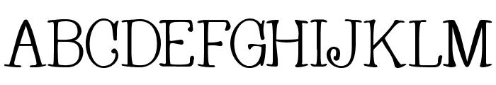 Whackadoo Font UPPERCASE