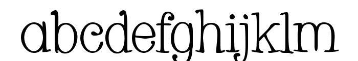 Whackadoo Font LOWERCASE