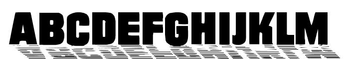 Wharmby Font UPPERCASE