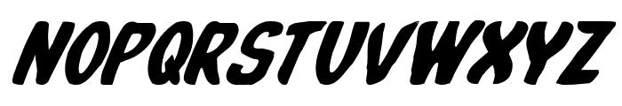 Whatafont Italic Font UPPERCASE