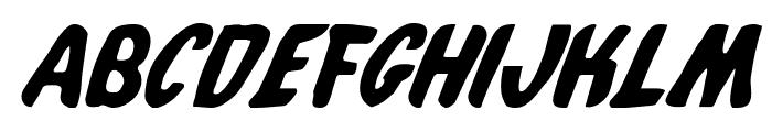 Whatafont Italic Font LOWERCASE