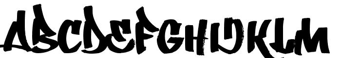 Whatka! Font UPPERCASE