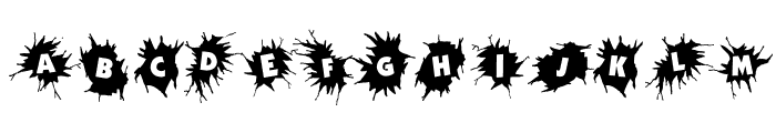 WhereCracksAppear Font LOWERCASE
