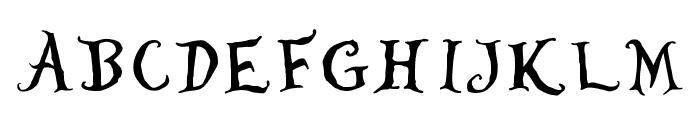 WhereisAlicedemo Font UPPERCASE