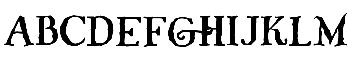 Whiffy Font LOWERCASE