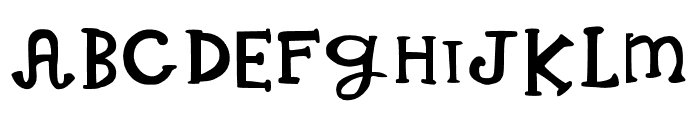 Whimsical Wilma Medium Font UPPERCASE