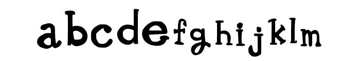 Whimsical Wilma Medium Font LOWERCASE