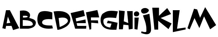 Whimsy TT Font UPPERCASE