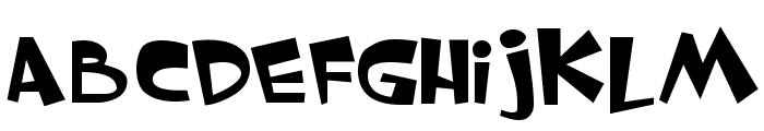 Whimsy TT Font LOWERCASE