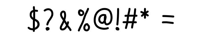 Whiplashgirlchild Font OTHER CHARS