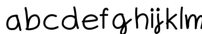 Whiplashgirlchild Font LOWERCASE