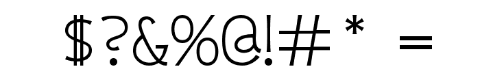 Whipsmart Font OTHER CHARS