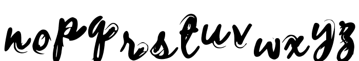 WhispTHIS! Font LOWERCASE
