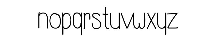 WhisperADream Font LOWERCASE