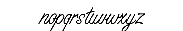 WhisperWrite Medium Font LOWERCASE